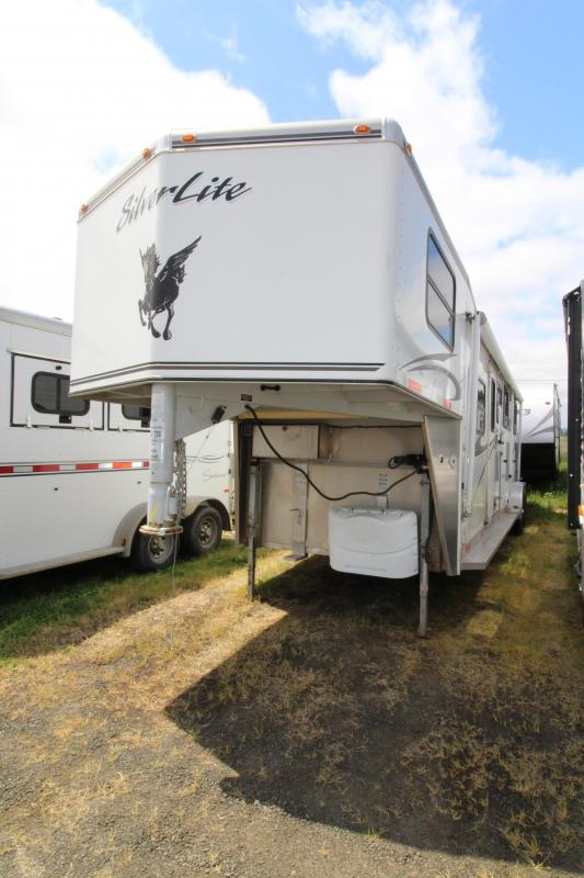 2007 Silver Lite LQ 4 Horse Trailer - Full Stud Wall - PRELIMINARY PHOTOS - PRICE AND DESCRIPTION COMING SOON