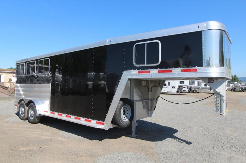 2018 Featherlite 8542 - Rear Tack - Escape Door - 3 Horse Trailer - Large Dressing Room w/ Screen Door PRICE REDUCED