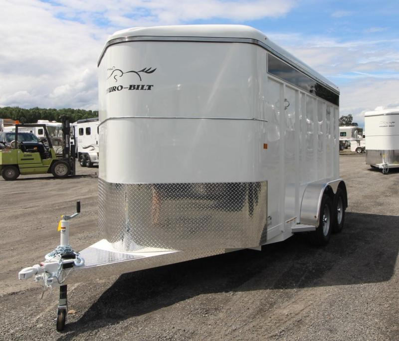 2020 Thuro-Bilt Wrangler Plus 2 Horse Trailer w/ Plexiglass