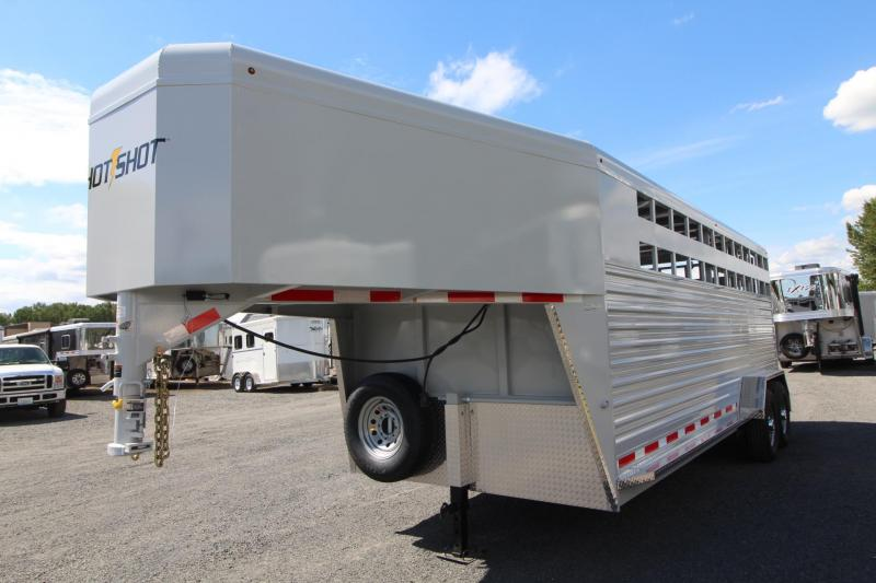 2018 Trails West HotShot 20ft - Tack room package - stock combo Trailer