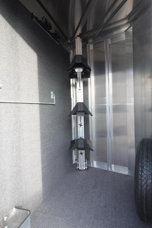 2018 Exiss Express 3 Horse Trailer - Polylast Flooring - Carpeted Tack Wall - Jail Bar Dividers- PRICE REDUCED!! $1000