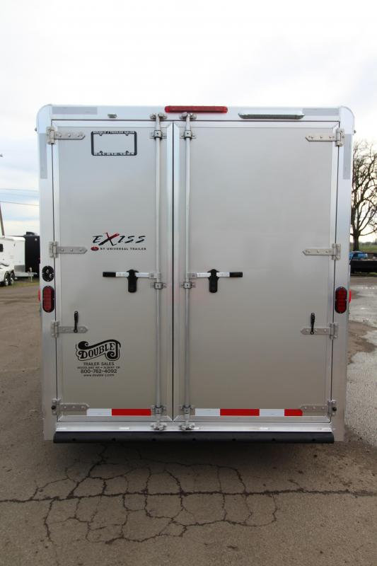 2018 Exiss Express XT 3 Horse Trailer - All Aluminium - Easy Care Flooring - Air Flow Dividers - Champagne Exterior Color