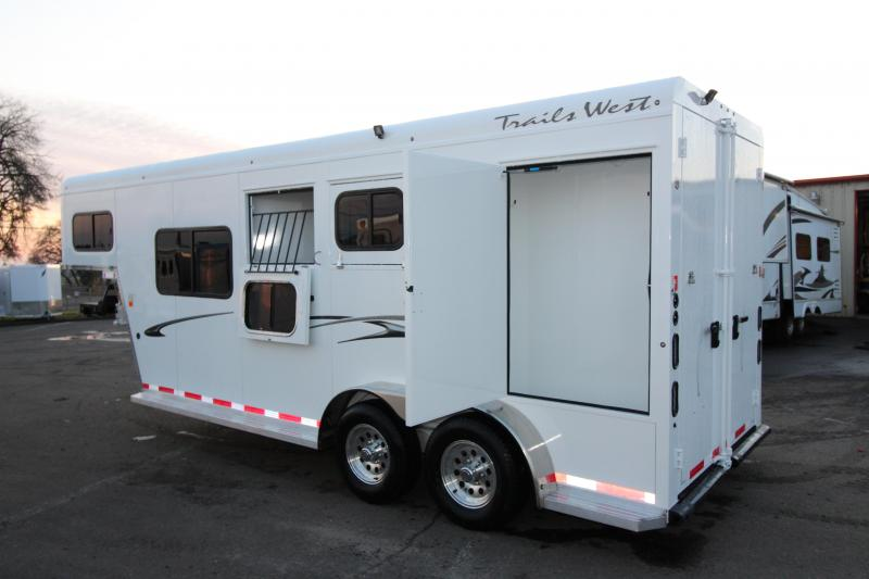 "2018 Trails West Classic Specialite 2 Horse - w/ 5x5 Comfort Package - Side Tack - Rear Broom Closet - 7'6"" Tall"