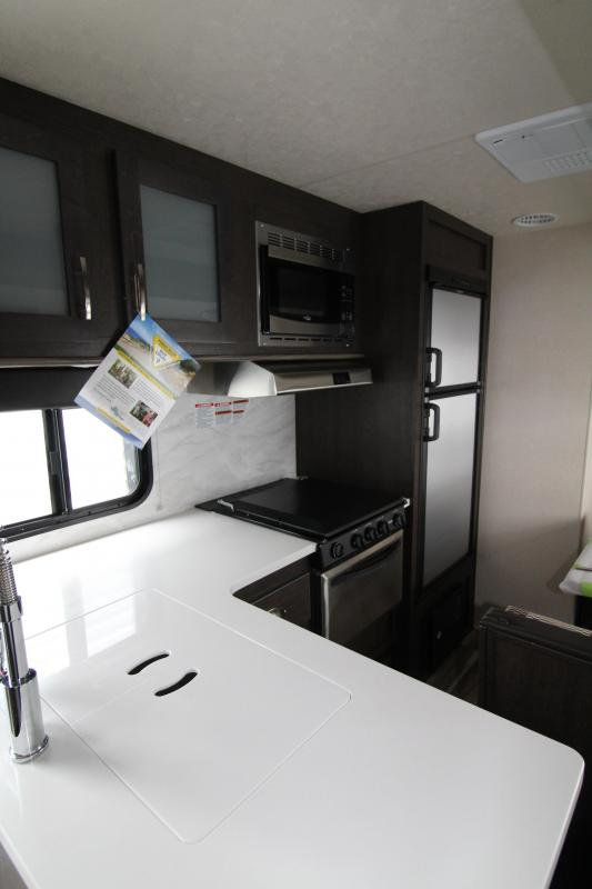 2018 Forest River EVO 2990 Travel Trailer - NEW Floorplan! Sleeps 8! - Outside Kitchen - Dinette and Sofa in Slide Out - 3 Bunk Beds! Silver Birch Interior Decor - PRELIMINARY PICS - PRICE REDUCED BY $1000