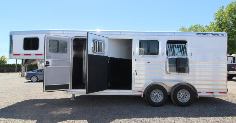 "2020 Featherlite 7541 Horse Trailer 7' Wide 7' Tall 56"" Dressing Room"