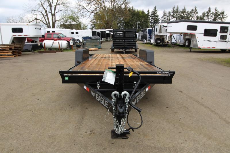2019 Eagle Trailer 7x20 Tandem Axle 14k Tiltdeck Flatbed Trailer