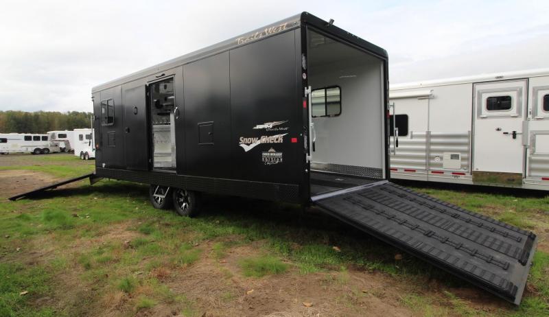2019 Trails West RPM 28ft Burandt Edition Snowmobile Trailer w/ Car Option
