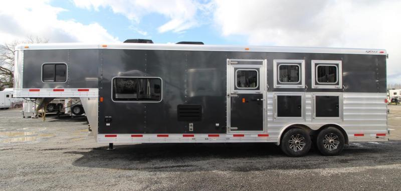 2019 Exiss Endeavor 8310 -10ft SW Living Quarters 3 Horse Trailer