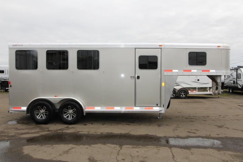 2018 Exiss Trailers Express Ss 3 Horse Trailer All