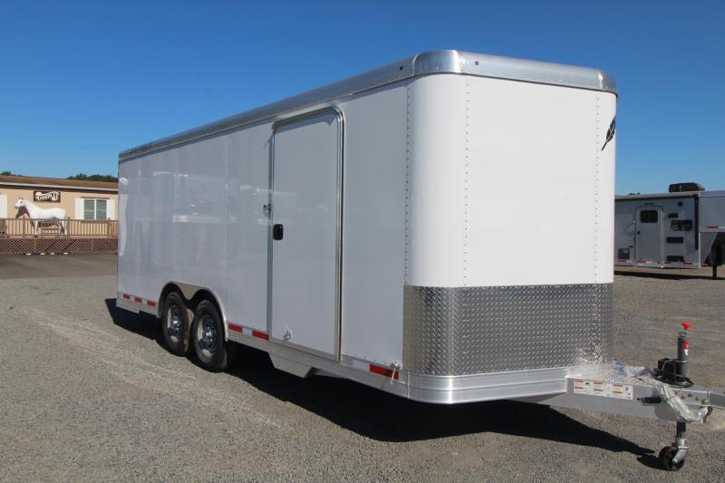 2019 Featherlite 20 ft Enclosed Car trailer - All Aluminum 7' Tall