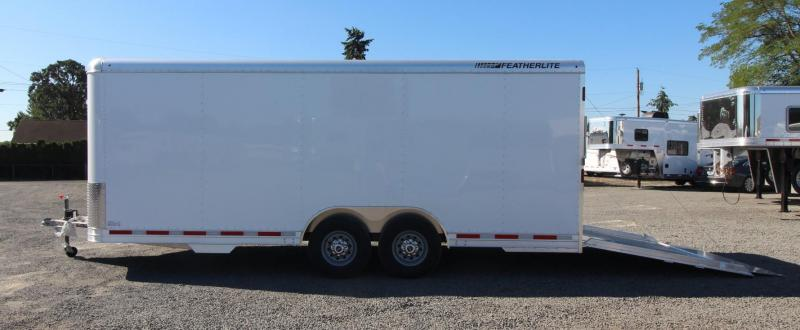 2019 Featherlite 20 ft Enclosed Car trailer - All Aluminum 7' Tall