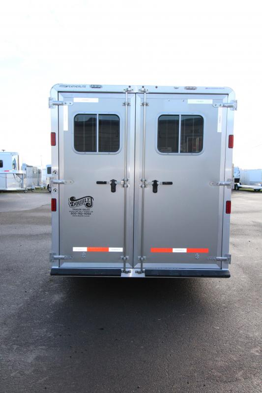 "2018 Featherlite 8542 Legend  - 3 Horse - All Aluminum - 7'6"" Wide & 7'6"" Tall - BIG horse Trailer-  Dual Colored Exterior - LED Load Lights - Extra Large 50"" Stalls!"