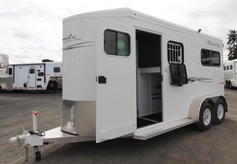 2019 Trails West Royal SxST 2 Horse Straight Load Convenience Pkg