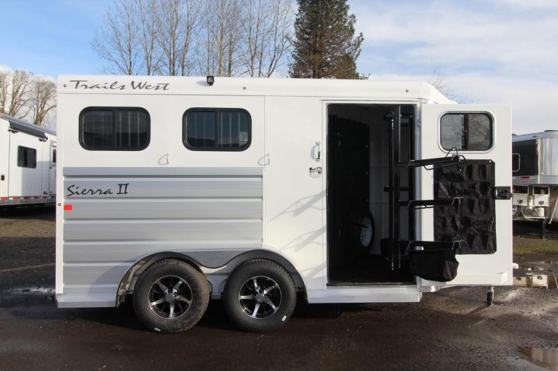 2018 Trails West Sierra II - 2 Horse Trailer - Extruded Aluminum Sides - Lined and Insulated  - PRICE REDUCED