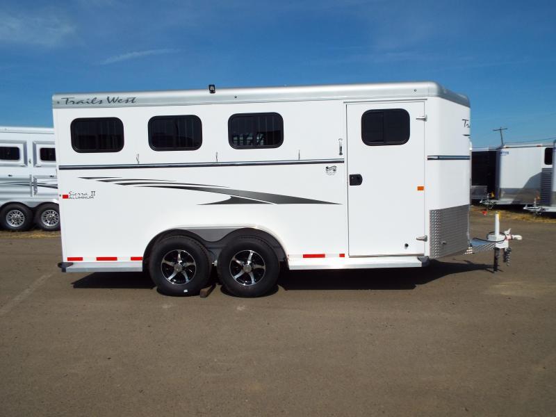 2017 Trails West Sierra Specialite 3 Horse Trailer w/ Escape Door