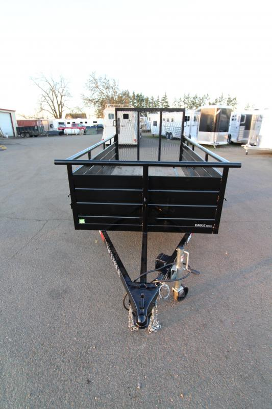 2019 Eagle 5x10 Ultra Classic Utility Trailer -  UPGRADED 2k  Side mount jack - 2x6 Fir decking - Spare tire mount - Step in front and behind fender