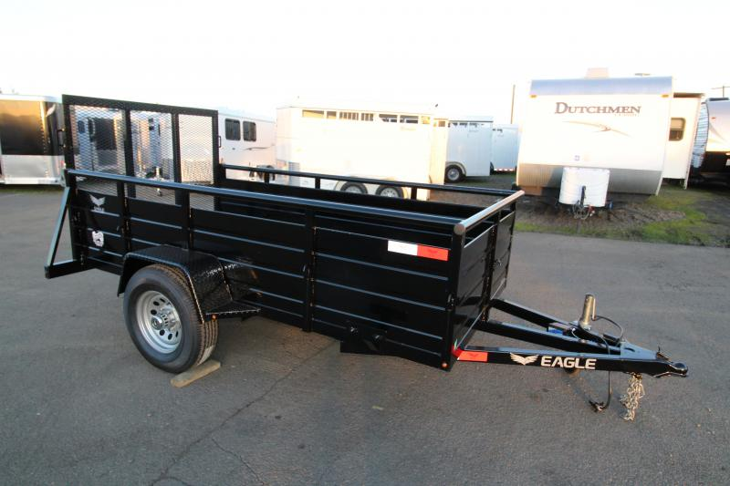 2019 Eagle 5x10 Ultra Lite Utility Trailer