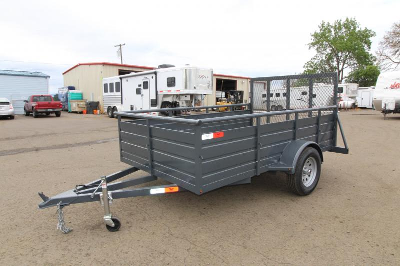 2019 Eagle 6x10 Single Axle Ultra Classic Utility Trailer - 1000 lbs Dry weight - Single Spring 3500# leaf axle - 18