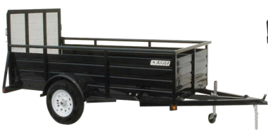 2019 Eagle 6x10 Single Axle Ultra Classic Utility Trailer