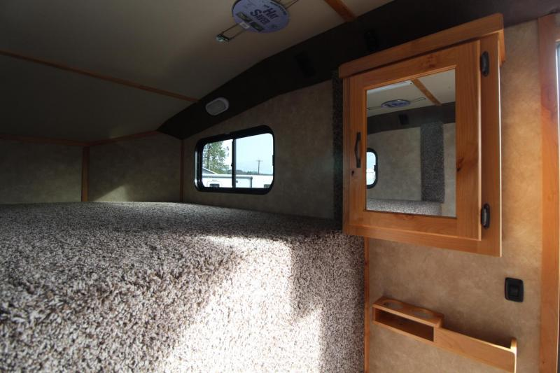 2019 Trails West Classic 5x5 Comfort Package Sleeping area 4 Horse Trailer w/ Side Tack