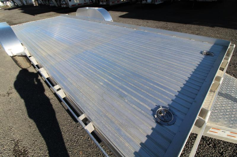 2019 Featherlite 3110 - 20ft Aluminum Flatbed Trailer w/ stake pockets