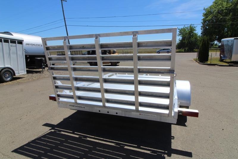 2019 Featherlite 1693 Flatbed 10ft utility Trailer - All aluminum -REDUCED $200