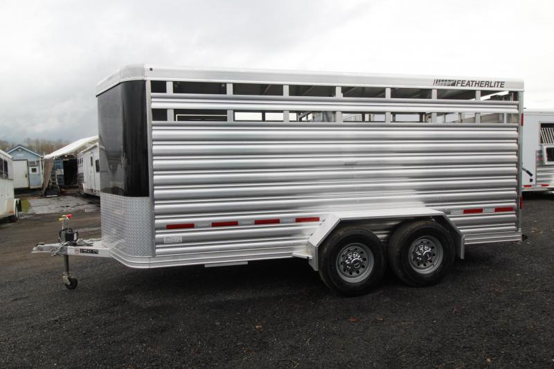2019 Featherlite 8107 - 16FT Aluminum Livestock Trailer