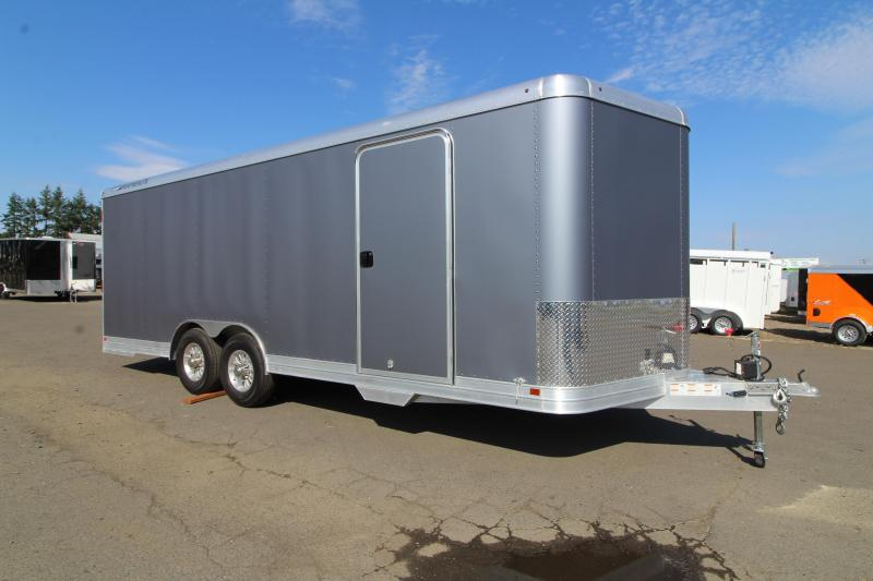 2019 Featherlite 4926 22' Enclosed Car Trailer - All Aluminum - 7' Tall - Includes Professionally Installed Vinyl Wrap - PRICE REDUCED