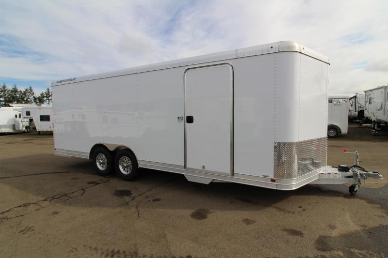 2019 Featherlite 4926 22' Enclosed Car Trailer - All Aluminum - 7' Tall