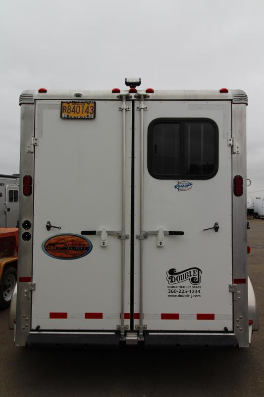 "2013 Sundowner 2 Horse Custom Weekender 6'6"" SW  Package - Full Sized Refrigerator"