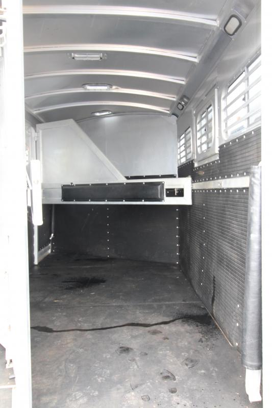 2003 Platinum 3 Horse Gooseneck Horse Trailer - Front and Back Tack - All Aluminum - PRELIMINARY PHOTOS