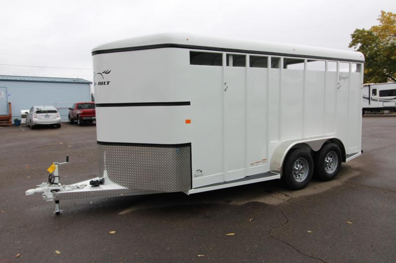 2019 Thuro-Bilt Wrangler 3 Horse Trailer - 7' Tall - Swinging Tack Wall -