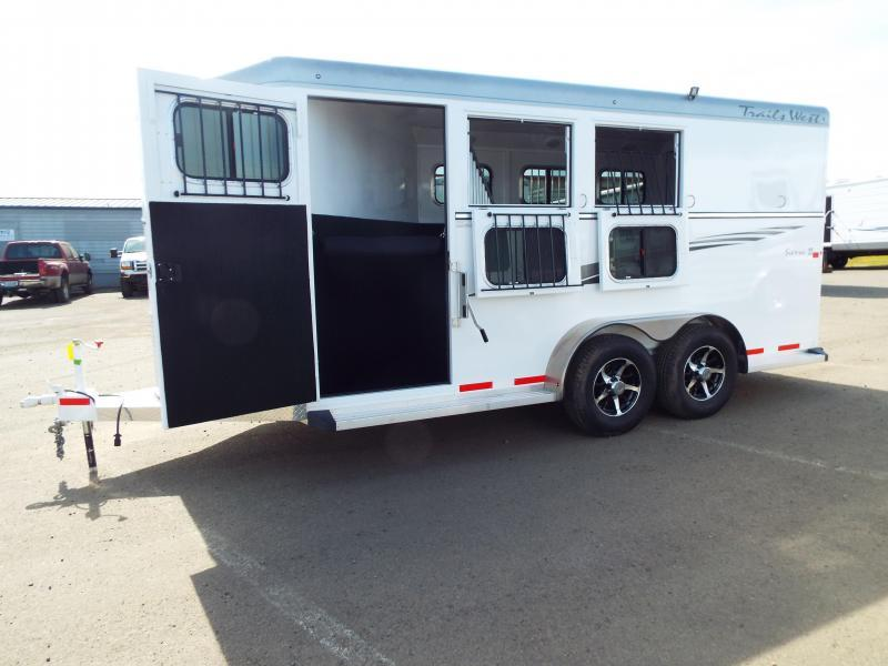 2017 Trails West Sierra Specialite 3 Horse Trailer w/ Escape Door PRICE REDUCED!