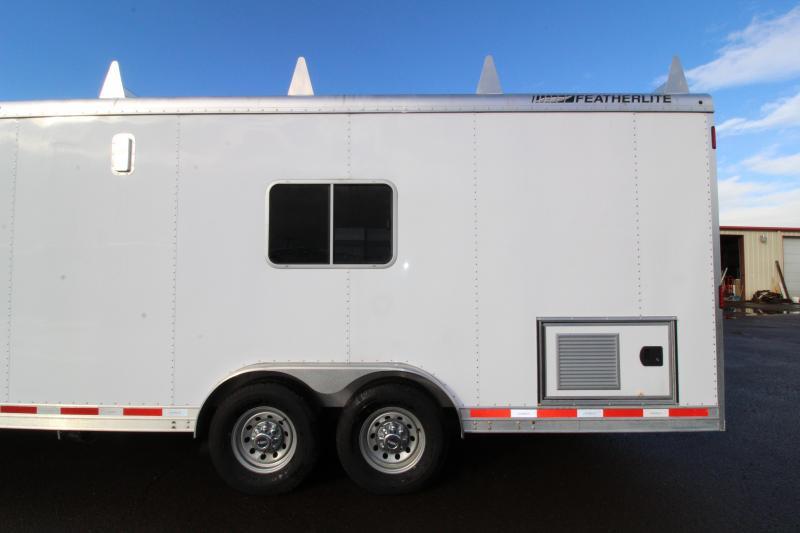 2014 Featherlite 4941 26 Toy Hauler - Custom Trailer - Set for Living Quarters - Unique Trailer Check It Out!