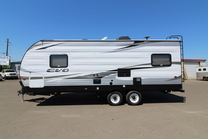 2017 Forest River EVO 2010 Travel Trailer - Walk Around Queen Bed - Dinette and Sofa! - Silver Birch Interior Decor - PRICE REDUCED BY $1000