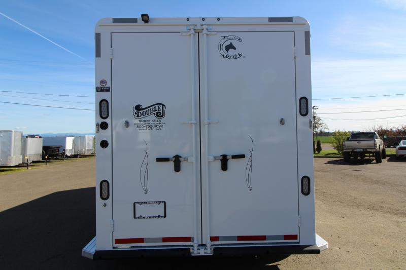 """2019 Trails West Classic 2 Horse Trailer - 7'6"""" Tall - Comfort Package - Side Tack - Upgraded Axles"""