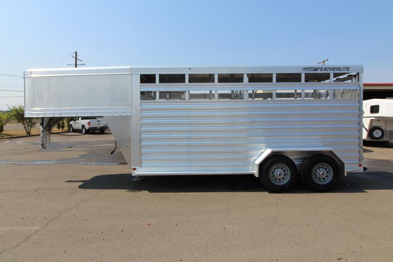 2019 Featherlite 8117 - 16' All Aluminum Livestock Trailer