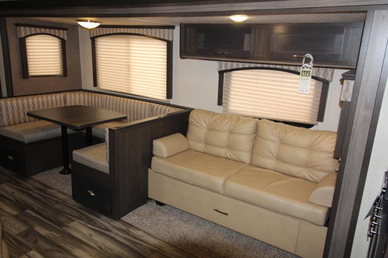 2018 Forest River Evo 2790 Travel Trailer - Rear Kitchen -  NEW Floor Plan - Loaded Options! - TV- Arctic Package - Solar Panel Package! Golden Ash Interior Decor - PRICE REDUCED BY $1500