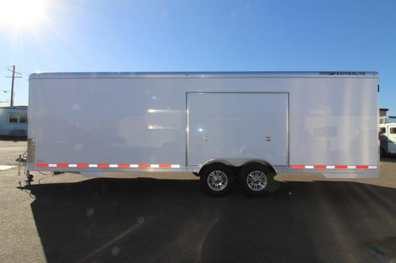 2019 Featherlite 4926 26' Car Trailer - Insulated - Cabinets - 110v Shore Power