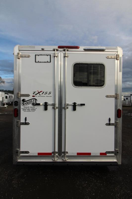 2018 Exiss 730 - Lined and insulated - Large tack room w/ swing out saddle rack - Escape Door Lots of Upgraded 3 Horse Trailer w/ Polylast Flooring $$Reduced$$