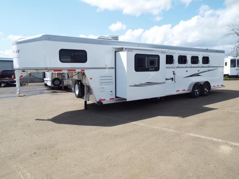2017 Trails West Sierra 10x15 LQ LIKE NEW 4 Horse Trailer - Price Reduced $1400 in Hermiston, OR