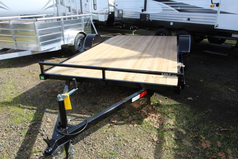 "2019 Eagle Trailer Single Axle ATV Trailer - 6'6"" x 13'"