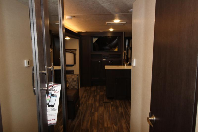 2018 Evo 3250 Travel Trailer - Outside Kitchen - Arctic Package - Double Slide Outs - Stainless Steel Appliances & More! PRICE REDUCED BY $1000