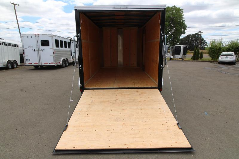2019 Mirage Xpres 7x12 Enclosed Cargo Trailer - Flat roof