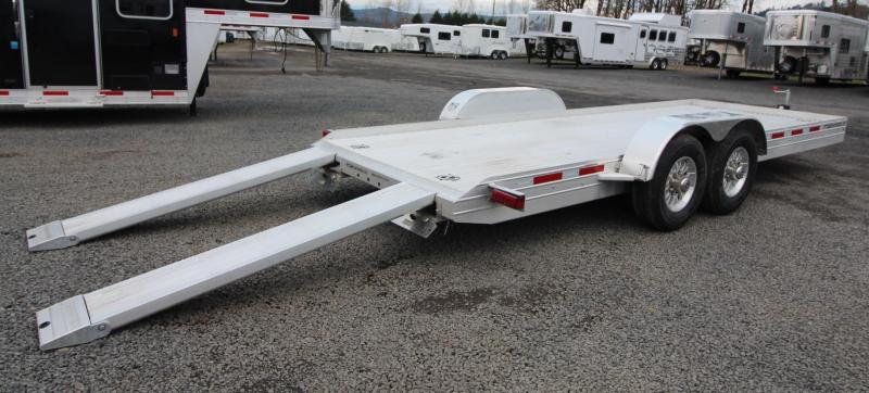 2019 Featherlite 3110 20 Flat Bed Car Trailer W Ramps