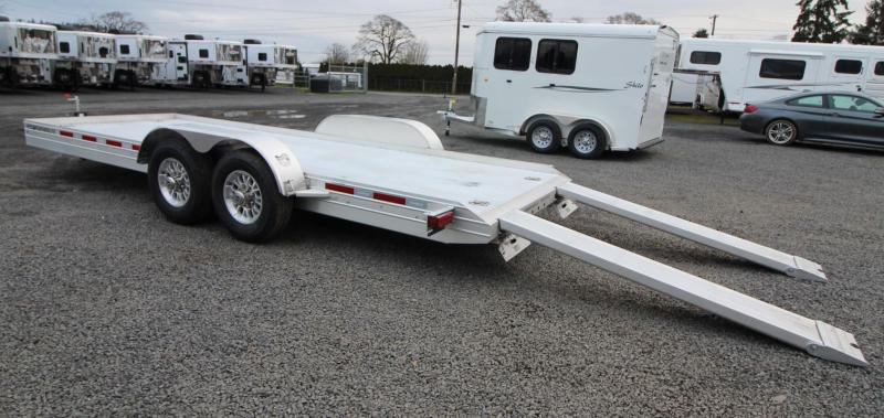 2019 Featherlite 3110 - 20' Flat Bed Car Trailer w/ Ramps