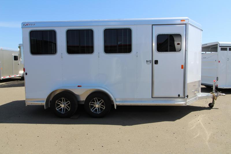 2018 Exiss Trailers Express SS - 3 Horse Trailer - All Aluminum With Easy Care Flooring - PRICE REDUCED BY $800