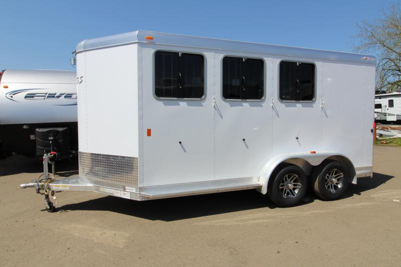 2018 Exiss Trailers Express SS - 3 Horse Trailer - All Aluminum With Easy Care Flooring