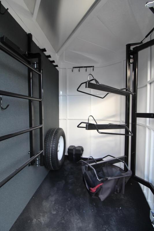 2018 Trails West Sierra II Warmblood 2 Horse Trailer W/ Escape door - Aluminum Skin Steel Frame