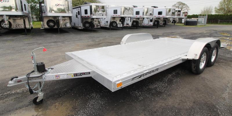2019 Featherlite 3182 16 ft Open Car Hauler Car / Racing Trailer